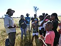 Environmental education to learners in Namibia.jpg