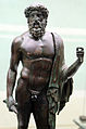 Epoca romana, giove con la folgore, da orig. greco del V sec. ac. 02.JPG