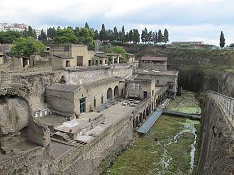Herculaneum - The excavations of Ercolano