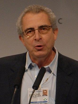 Mexican general election, 1994 - Image: Ernesto Zedillo World Economic Forum (2008) (cropped)