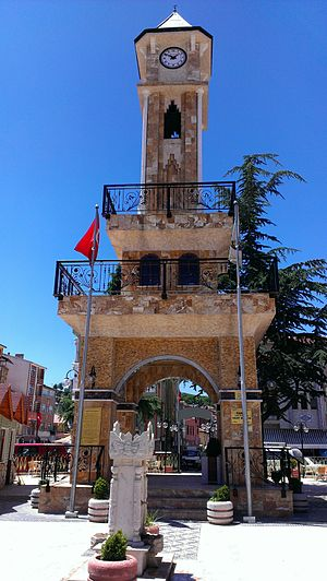 Eskipazar - Image: Eskipazar Saat Kulesi