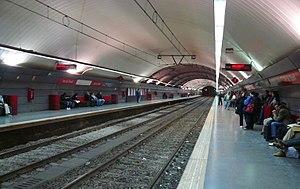 Arc de Triomf station - Rodalies de Catalunya station in 2007