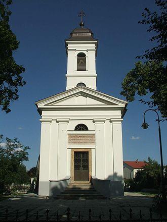 Szentgyörgymező - Image: Esztergom Miklosffy chapel