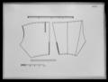 Ett par byxor av grå vadmal med banddekor och silvergaloner - Livrustkammaren - 34480.tif