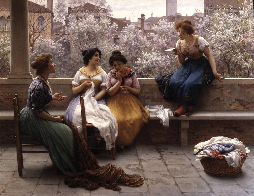 Eugen von Blaas - The Love Letter 1904.jpg