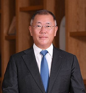 Chung Eui-sun South Korean businessman