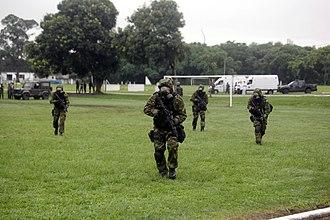 Special Operations Command (Brazil) - Image: Exercício Integrado de respostas em desastres naturais e antropogênicos (23468717556)