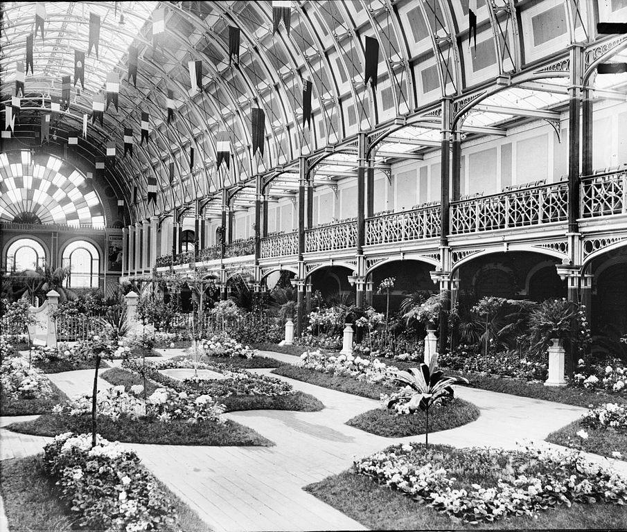 Exposition de le Palacio de Cristal de Porto (aujourd'hui disparu).