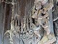 Exterior Woodwork Draped in Spiderwebs - Shwe In Bin - Teak Monastery.jpg