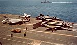 F-4 Phantoms on USS Kitty Hawk (CVA-63) in 1966.jpg