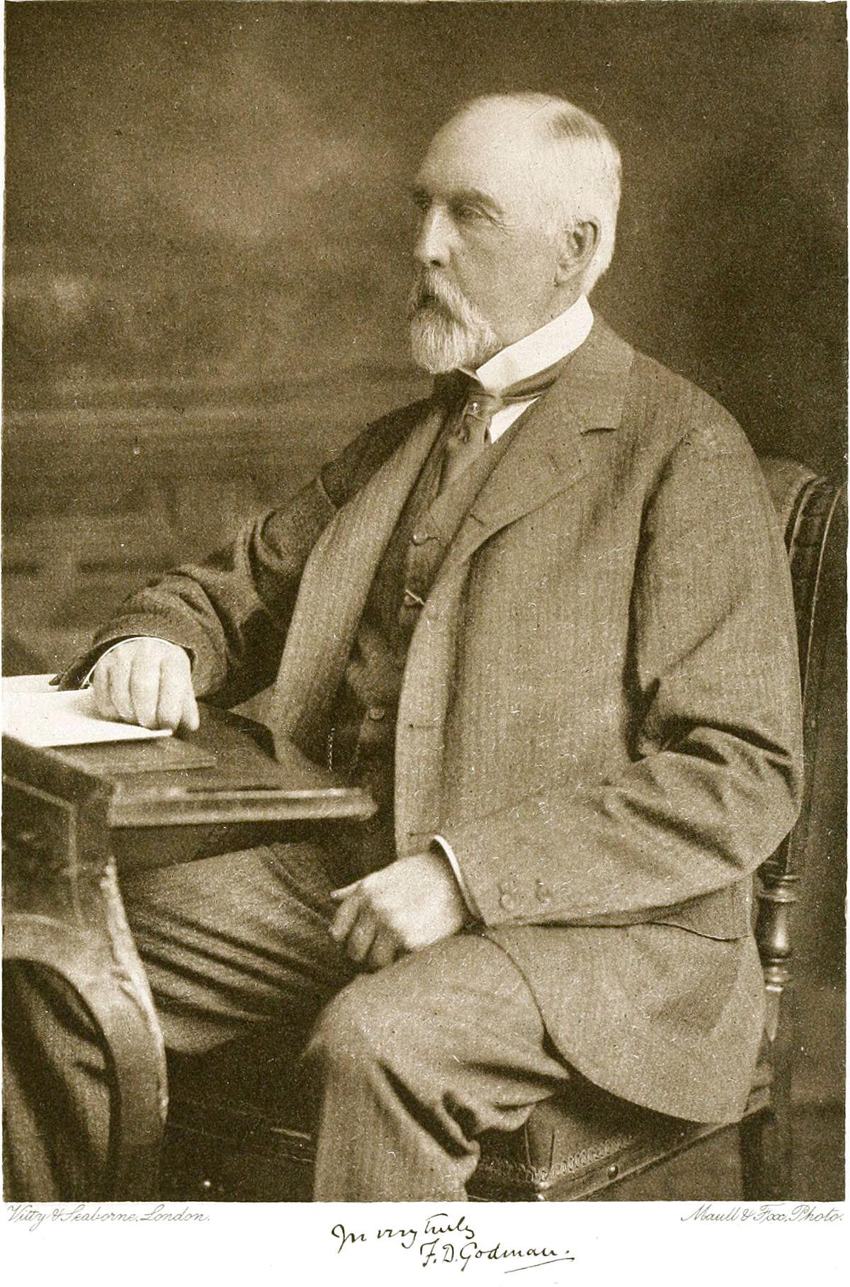 Frederick Ducane Godman