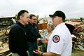 FEMA - 35189 - FEMA Administrator Paulison and local officials in Oklahoma.jpg