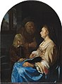 FM-102-Frans van Mieris-The Childs Lesson.jpg