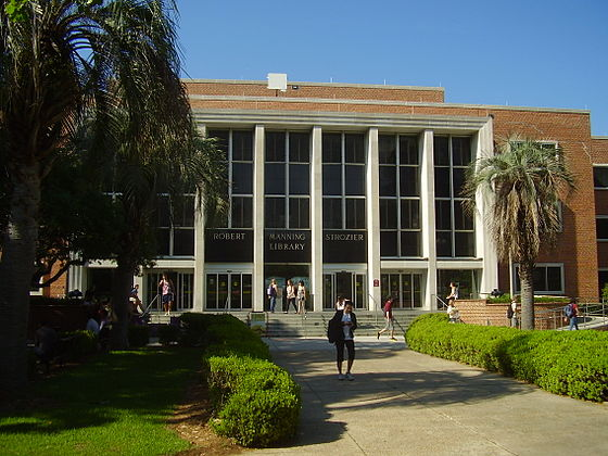The Robert M. Strozier Library FSUStrozier.JPG