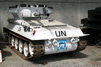 Unified Task Force - A UNOSOM FV107 Scimitar.