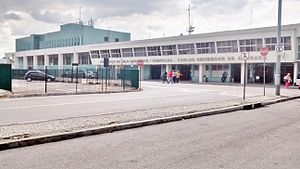 Belo Horizonte/Pampulha – Carlos Drummond de Andrade Airport - Image: Fachada Aeroporto da Pampulha