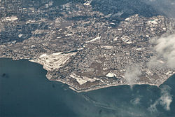 Aerial view of Fairfield