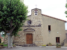 The church of the village