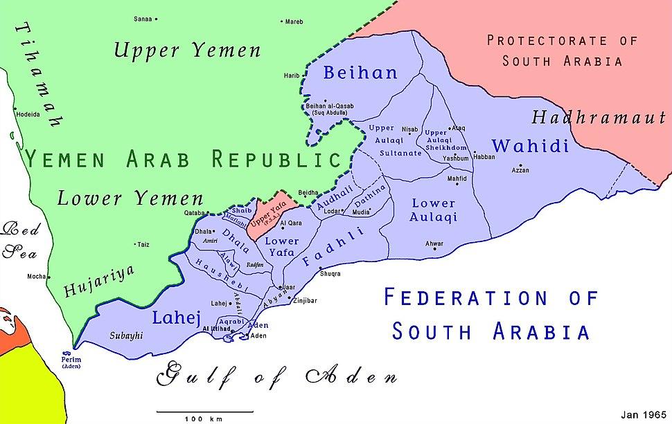 FederationOfSouthArabiaMap