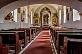 Feldkirchen Glanhofen Kirchplatz 5 Pfarrkirche hl Laurentius Kirchenraum 21062017 9739.jpg