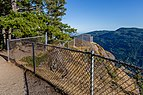 Fence on the top of Baynes Peak, Saltspring Island, British Columbia, Canada 05.jpg