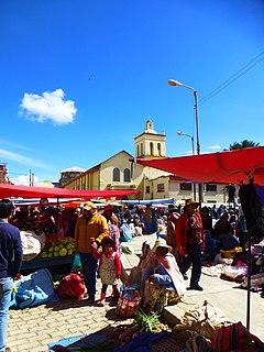 Achacachi Place in La Paz Department, Bolivia