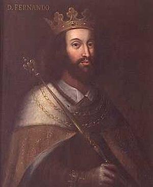 Third Fernandine War - King Ferdinand I of Portugal.