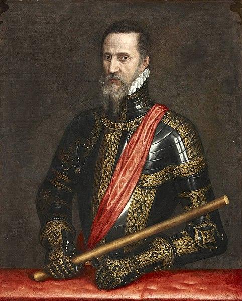 Retrato de Fernando Álvarez de Toledo por Antonio Moro.