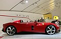 Ferrari Monza SP1 at the Museo Enzo Ferrari, Modena, Italy, 2019, 02.jpg