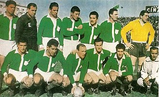 Ferro Carril Oeste - The 1958 team that won the Primera B championship.