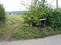 Fields and hedges on Pickelden Lane - geograph.org.uk - 571550.jpg