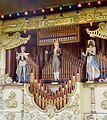 Figures, Gavioli fairground organ Queenie, Cophill Farm vintage rally 2012.jpg