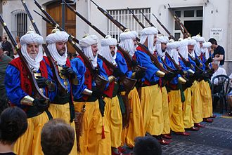 Moors - Moros y Cristianos festival in Oliva.