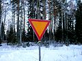 Finnish give way road sign.jpg