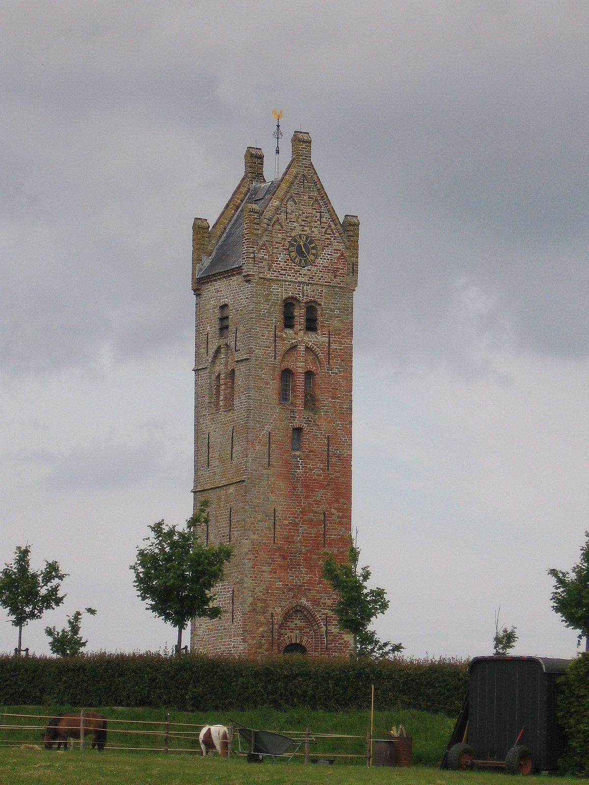 Firdgum church tower.JPG