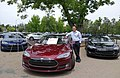 First Tesla Model S 3rd anniversary 2015.jpg