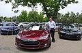 First Tesla Model S 3rd anniversary 2015.jpg