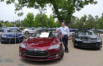Steve Jurvetson - The first production Tesla Model S (with owner Tesla Board member Steve Jurvetson) in June 2015, three years after the car's market release.