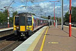 First TransPennine Express Class 350, 350405, Wigan North Western railway station (geograph 4500035).jpg
