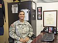 "First female Army Drill Team commander earns position by ""doing her job"" 150317-A-DZ999-189.jpg"