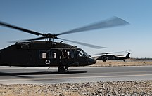 Afghanistan-Foreign relations and military-First set of Afghan UH-60A Black Hawks