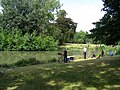 Fishing lake at Victoria Park, Bow - geograph.org.uk - 515128.jpg