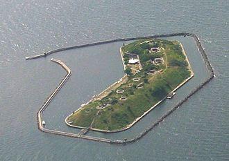 Flakfortet - Flakfortet island