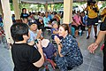 Flickr - Official U.S. Navy Imagery - The CO of USS Germantown speaks with Lamai Auiyabuth at Banglamung Home For Aged after presenting her with a Germantown ball cap..jpg