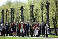 Flickr - Saeima - Svinīgā vainagu nolikšanas ceremonija Rīgas Brāļu kapos (7).jpg