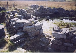 Loch na Berie - The broch in 2003