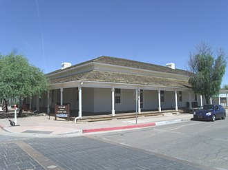 Levi Ruggles - The First Pinal County Courthouse.