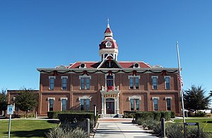 Eva Dugan - The trial of Eva Dugan was held in the Second Pinal County Courthouse located in 135 Pinal St. in Florence.