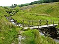 Footbridge at Dent Head Farm - geograph.org.uk - 1371688.jpg