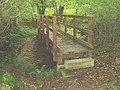 Footbridge over the stream - geograph.org.uk - 22668.jpg